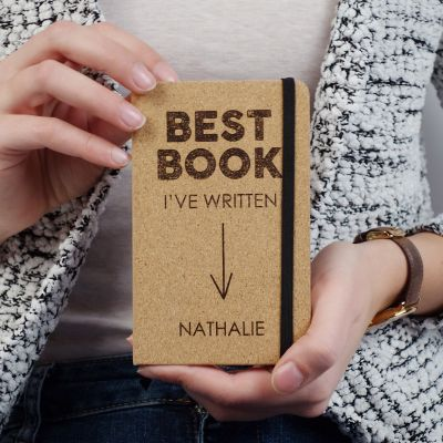 Personalisierte Notizbücher - Personalisierbares Kork Notizbuch - Best Book