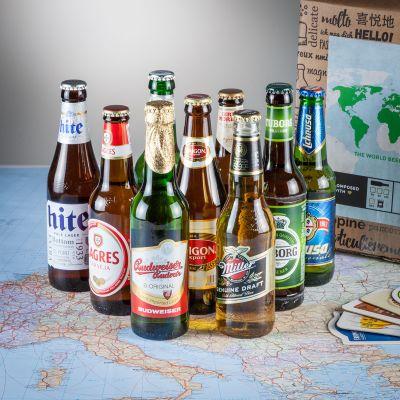 Alkohol - Bier Weltreise Geschenkbox