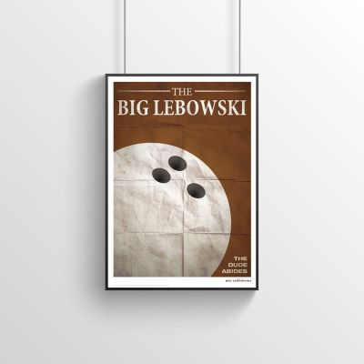 Poster - The Big Lebowski - Filmzitate Poster