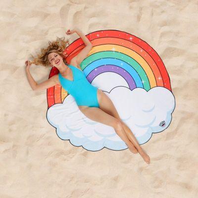 Geschenke für Kinder - Regenbogen Strandtuch