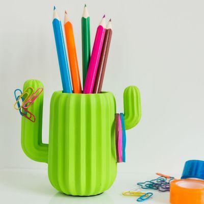 Spiel & Spass - Kaktus Schreibtisch Organizer