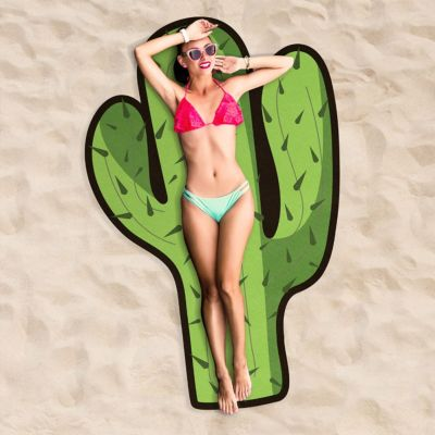 Strand & Wasser - Kaktus Strandtuch