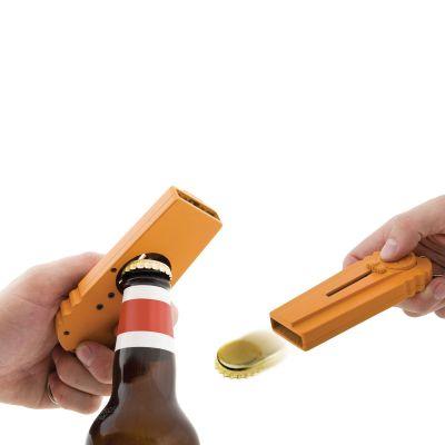 Geburtstagsgeschenke für Männer - CAP Zappa - Flaschenöffner mit Kronkorken-Schleuder