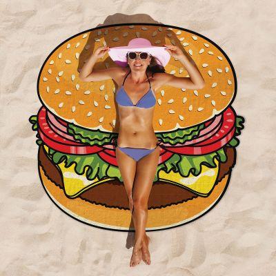 Sommer Gadgets - Cheeseburger Strandtuch