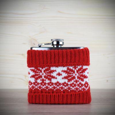Tassen & Gläser - Flachmann im Weihnachtslook