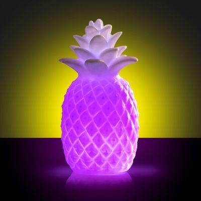 Beleuchtung - Ananas Leuchte mit Farbwechsel