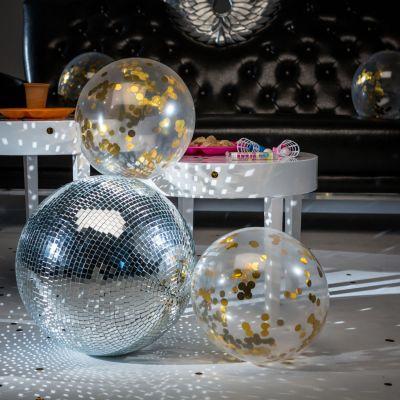 Witzige Geschenke - Ballons mit Gold-Konfetti