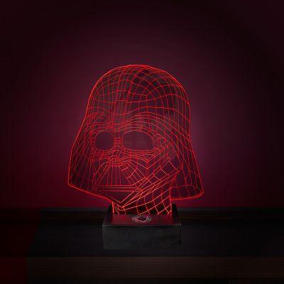 Geschenke für Bruder - Star Wars Darth Vader Leuchte mit 3D Effekt