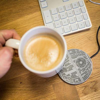 Spaß im Büro - Star Wars Todesstern Tassenwärmer mit USB