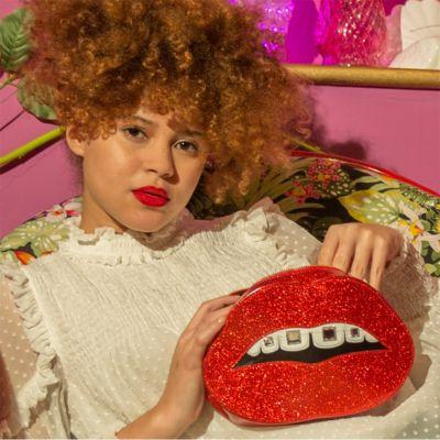 Badezimmer - Bling Make-Up Beutel