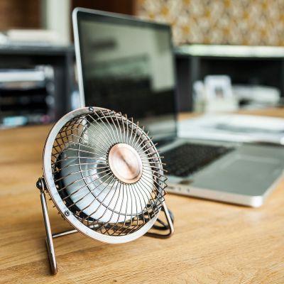 Computer & USB - USB Schreibtisch Ventilator in Bronze