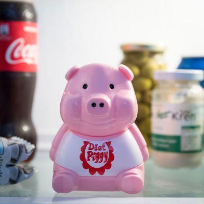 Geschenke für Frauen - Kühlschrank Diät Schweinchen