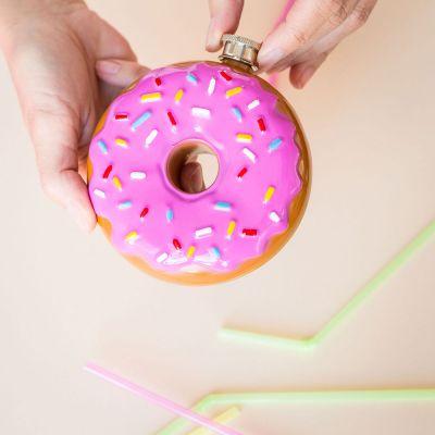 Geburtstagsgeschenk für Mama - Donut Flachmann
