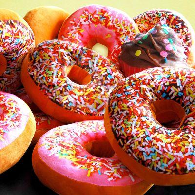 Geschenke für Kinder - Donut Kissen