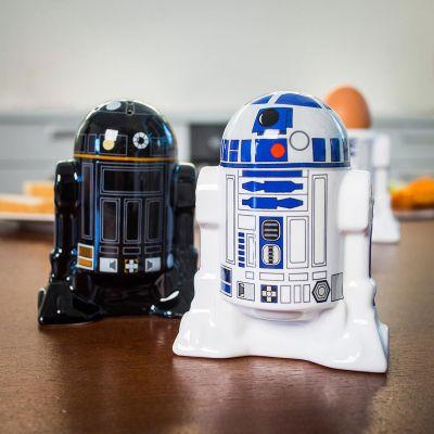 Weihnachtsgeschenke für Männer - Star Wars R2D2 & R2Q5 Salz- und Pfefferstreuer