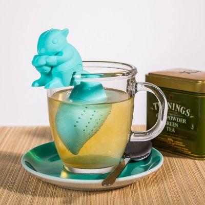 Geburtstagsgeschenk zum 50. - Eichhörnchen Tee-Ei