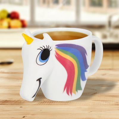 Tassen & Gläser - Einhorn Tasse mit Farbwechsel