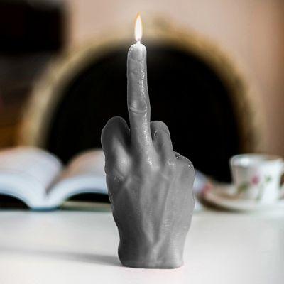 Geschenke für Bruder - Stinkefinger Kerze