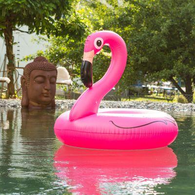 Sommer Gadgets - Pink Flamingo Schwimmreifen