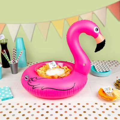 Sommer Gadgets - Aufblasbare Mini Snack-Bar Flamingo