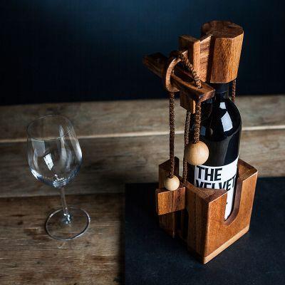 Geschenk für Freundin - Flaschenpuzzle - Geduldspiel