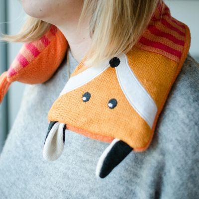 Fashion - Fuchs Wärmekissen für den Nacken