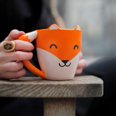 Wichtelgeschenke - Fuchs Tasse