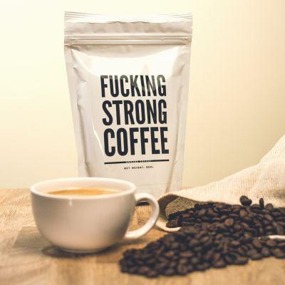 Wichtelgeschenke - F*cking Strong Coffee: Verdammt starker Kaffee