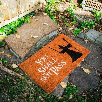 Geschenke für Männer - Fußmatte You Shall Not Pass