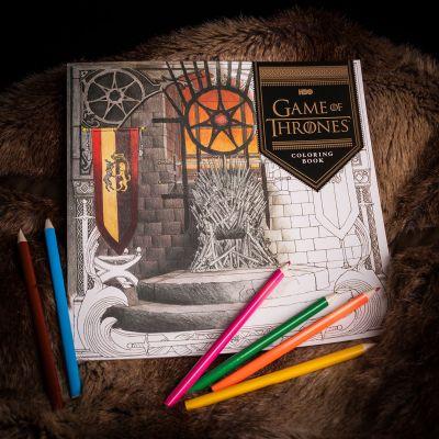Spiel & Spass - Game Of Thrones Malbuch