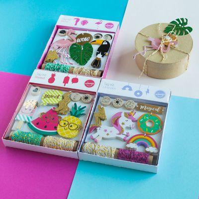 Geschenke für Frauen - Fröhliche Geschenkanhänger Sets