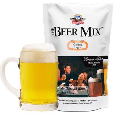Geburtstagsgeschenk zum 50. - Nachfüllpackung zu Biermaschine -  Golden Lager, Vienna und Canadian Red Lager Mix