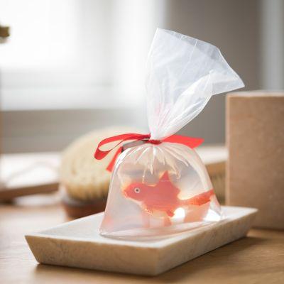 Badezimmer - Goldfisch Seife