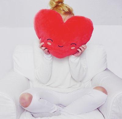 Weihnachtsgeschenke für Mama - Beheizbares Herz-Kissen