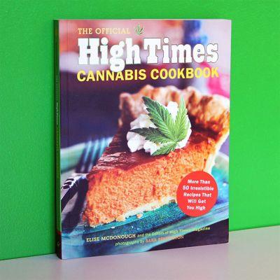 Geschenk zum Einzug - High Times Cannabis-Kochbuch