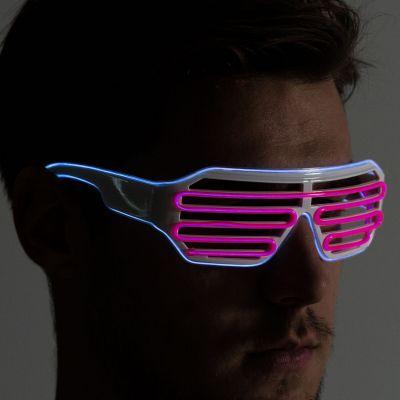 Spiel & Spass - Brille mit farbigen LEDs