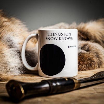 Weihnachtsgeschenke für Männer - Jon Snow Tasse
