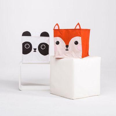 Deko - Fuchs und Panda Lampenschirm