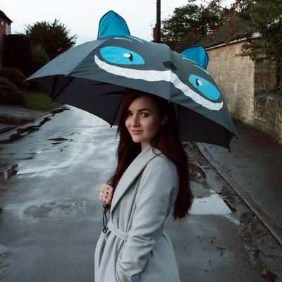 Fashion - Katzen Regenschirm