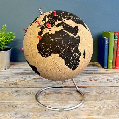 Geburtstagsgeschenke für Männer - Kork Globus