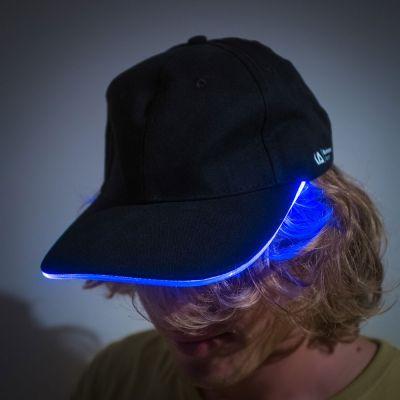 Fashion - Baseballkappe mit LED-Band
