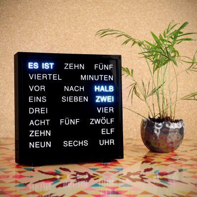 Geschenk für Paare - LED Word Clocks