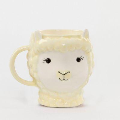 Tassen & Gläser - Lama Tasse aus Steingut