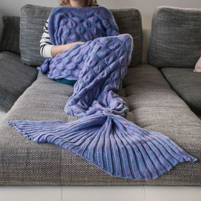 Geburtstagsgeschenk für Freundin - Meerjungfrauen Decke