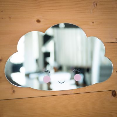 Badezimmer - Wolken Spiegel
