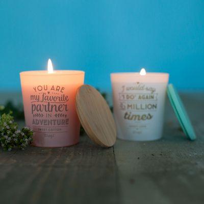 Deko - Liebes-Kerzen