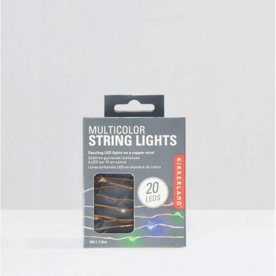 Geschenk für Freundin - Multi Colour Lichterkette
