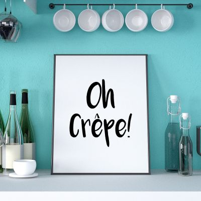 Exklusiv bei uns - Oh Crêpe Poster