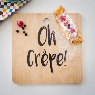 Küche & Grill - Oh Crêpe Schneidebrett