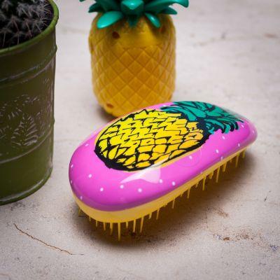 Badezimmer - Haarbürste mit Ananas-Duft
